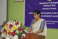 """Annual Research Symposium on """"Population Dynamics and the Post 2015 Development Agenda"""" - 2015"""