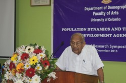 "Annual Research Symposium on ""Population Dynamics and the Post 2015 Development Agenda"" - 2015"