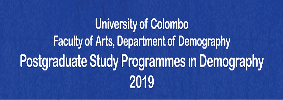 Calling Applications for Study Programmes in Demography – 2019