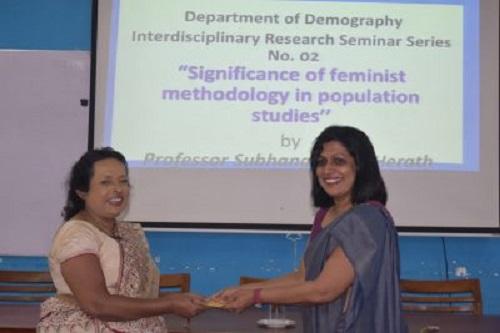 Interdisciplinary Research Seminar Series – No 02 – 18th Dec.