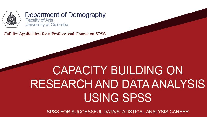 Professional Course on Capacity Building on Research and Data Analysis using SPSS
