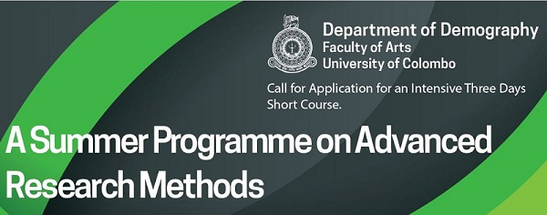 A Summer Programme on Advanced Research Methods