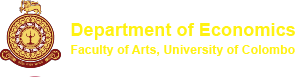 Department of Economics | University of Colombo