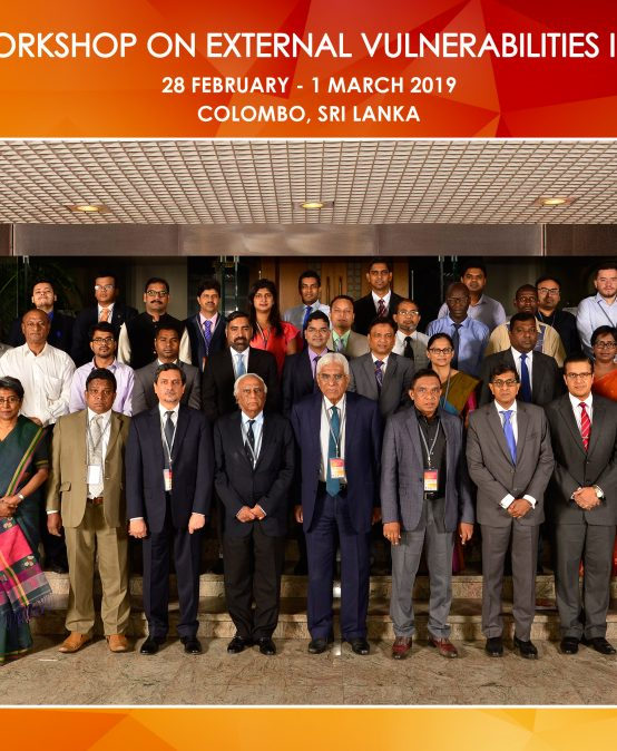 Regional Workshop on External Vulnerabilities in South Asia, 28th Feb – 1st March