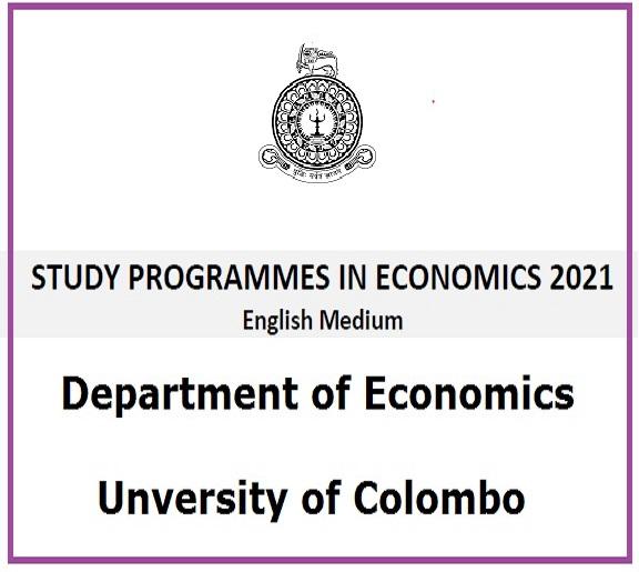 Study Programmes in Economics – 2021