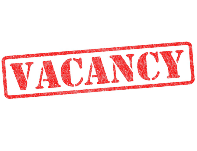 Vacancy – Post of Research Assistant