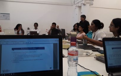 """Workshop: """"Critical Pathways in English Studies, Truant Geographies: Masculinities and Gender in Transition in Post-War Sri Lankan Culture, Language and Society"""""""