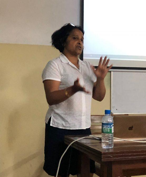 Talk by Dr. Priyanvada Abeywickrama