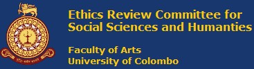 Ethics Review Committee | Ethics Review Committee for Social Sciences and Humanities (ERCSSH)