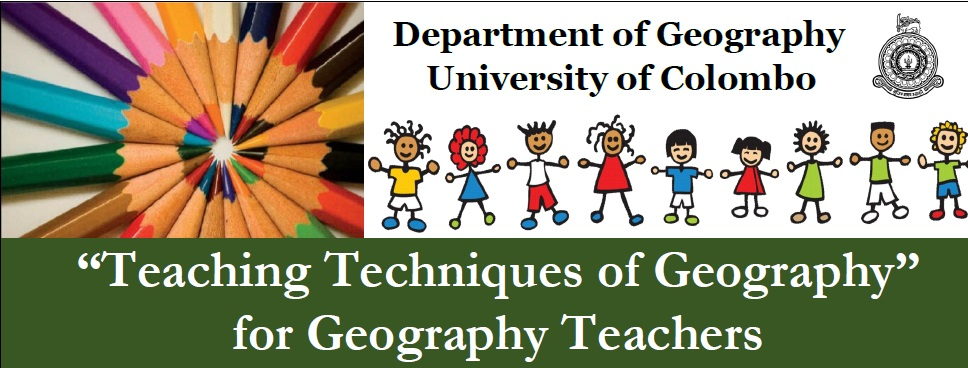 Advanced Certificate Course for Geography Teachers – 2020