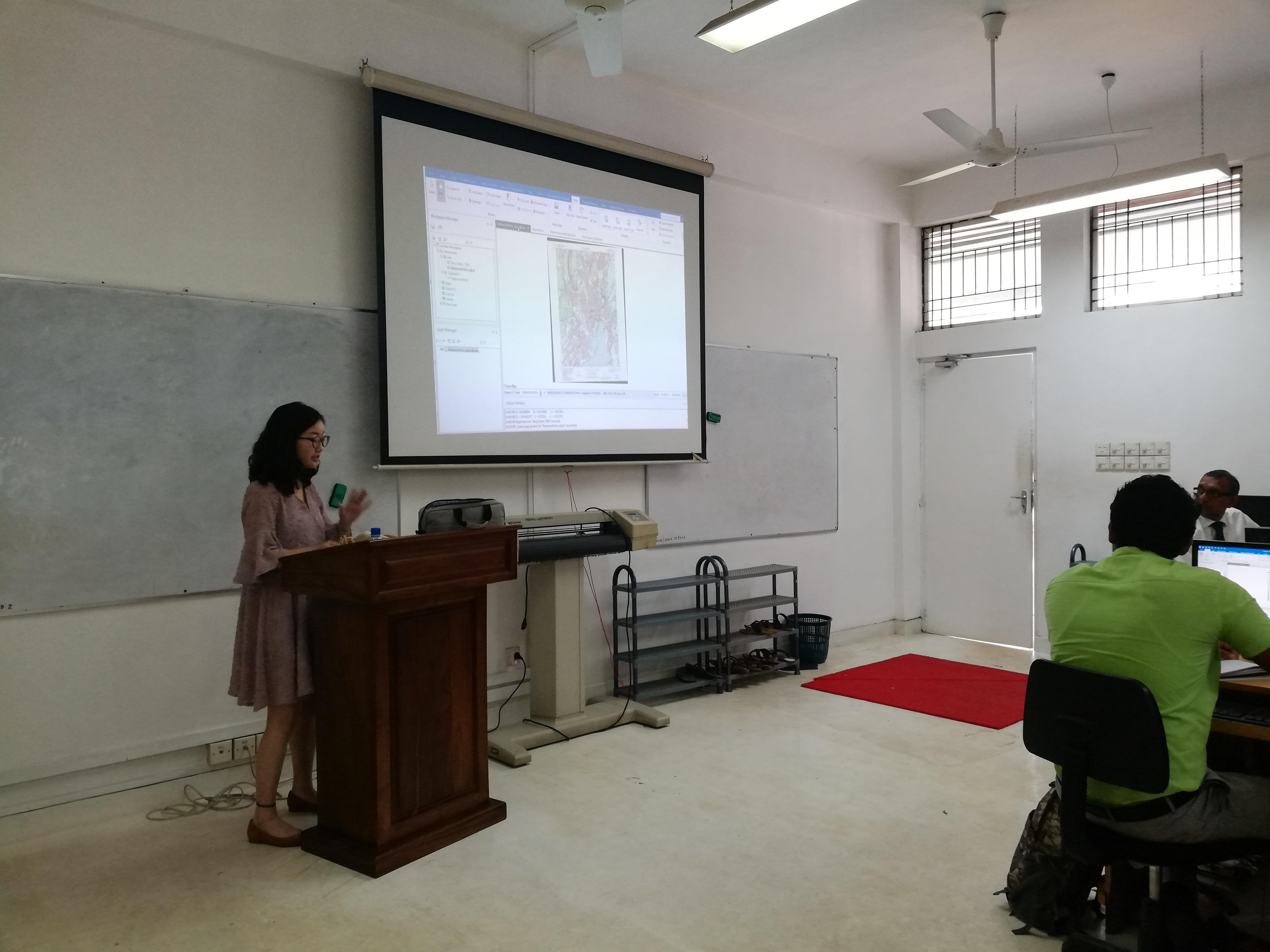 Training workshop on Super Map GIS