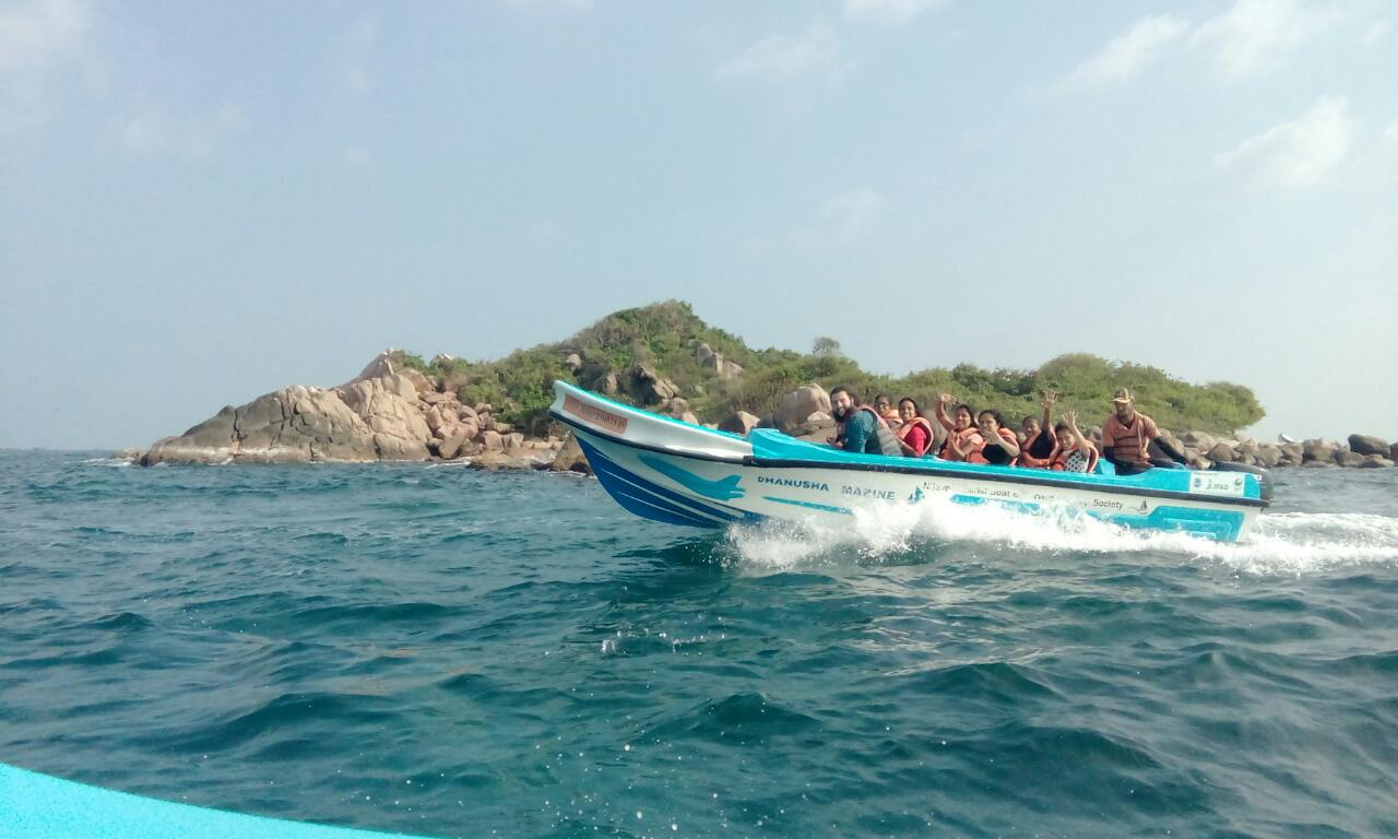 The History Society Trip to Trincomalee: February 2017