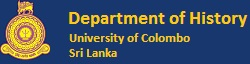 Department of History | University of Colombo
