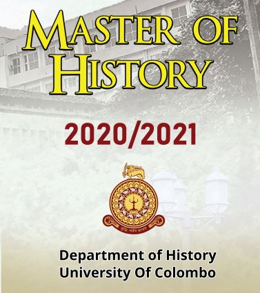 Master of History 2020 / 2021