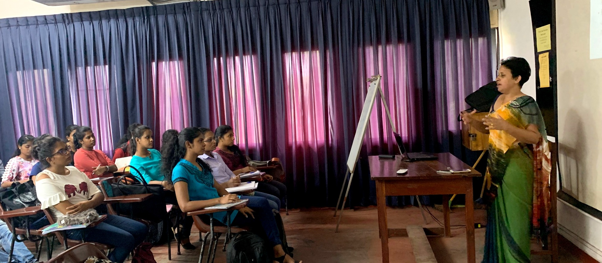 """Guest Lecture on """"African Slaves in Sri Lanka"""""""