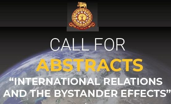 "INCoRe International Conference on ""International Relations and the Bystander Effects"" :  21st & 22nd Nov. 2020"