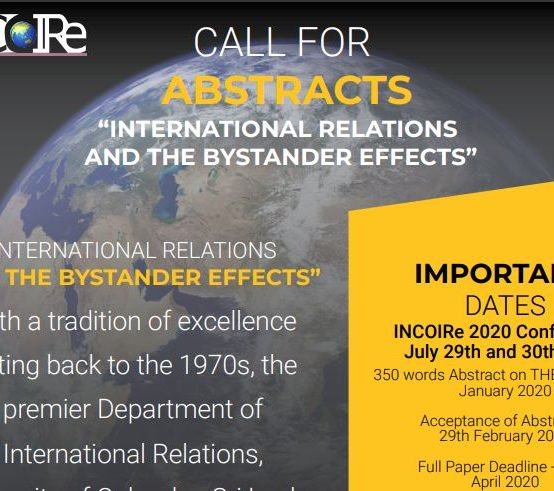 INCoRe International Conference – 2020