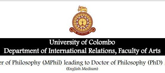 MPhil /PhD Programme 2021 (Extended deadline 16th Nov. 2020)