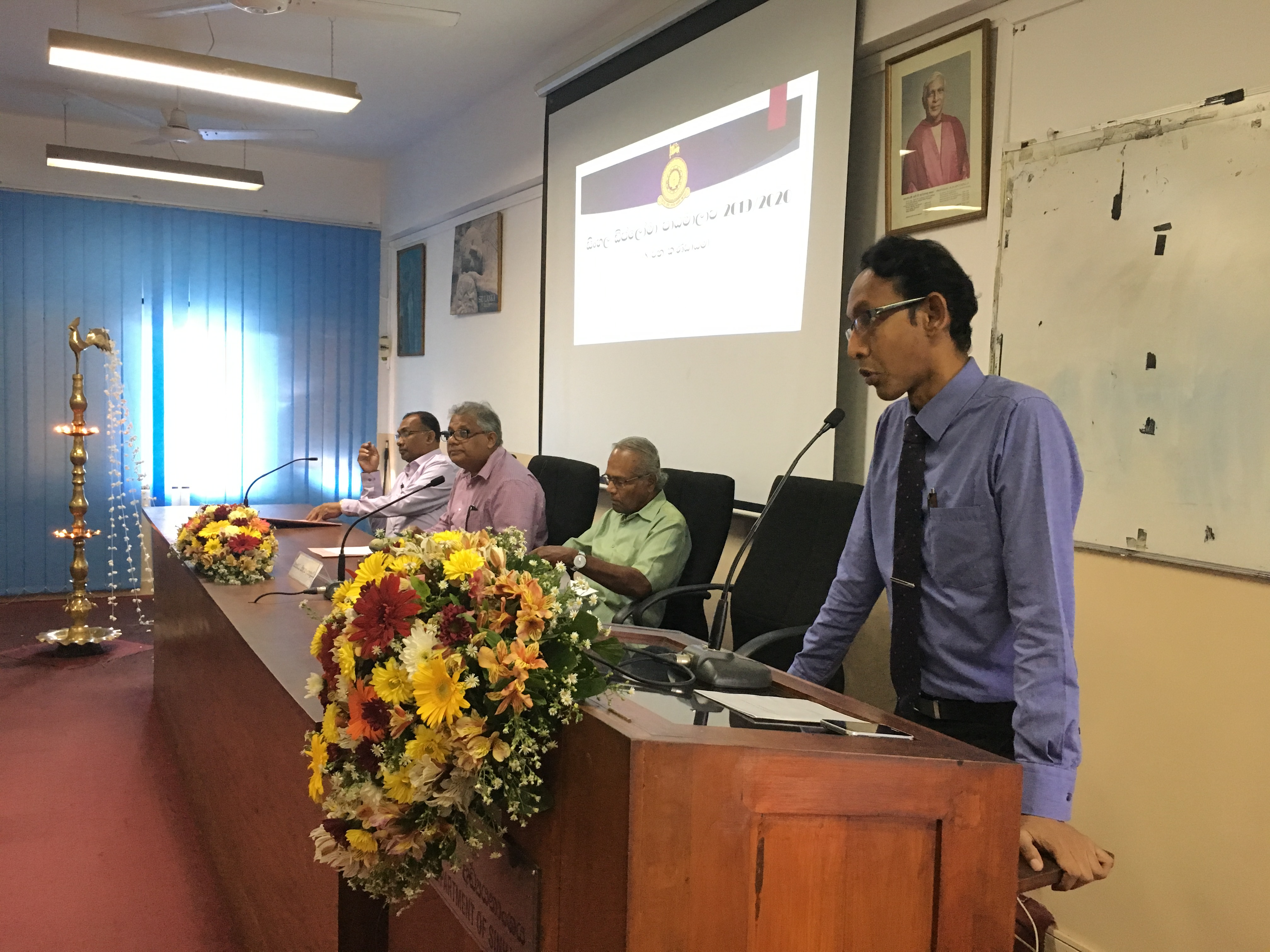 Inauguration Ceremony of the Diploma in Sinhala – 2019, 30th March