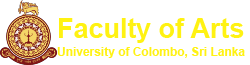 Faculty of Arts | University of Colombo