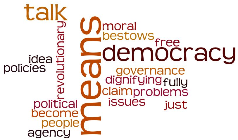 Workshop on Democracy, Citizenship and Justice