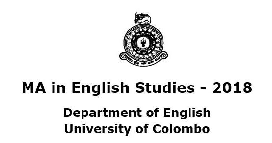 MA in English Studies – 2018