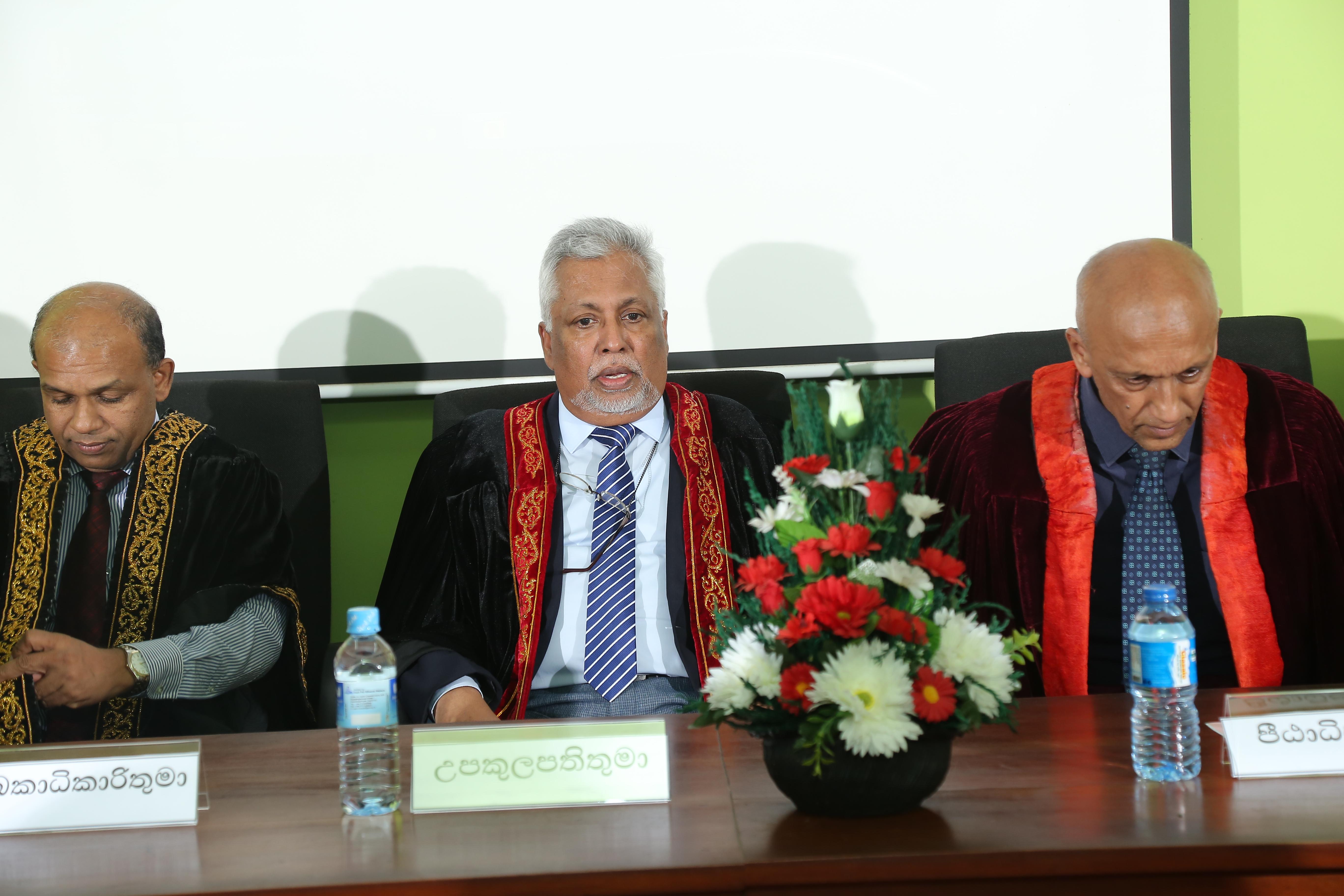 Award Ceremony : Diploma in Sinhala – 31st Oct.