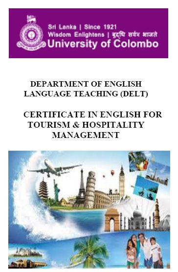 Certificate in English for Tourism & Hospitality Management – 2018