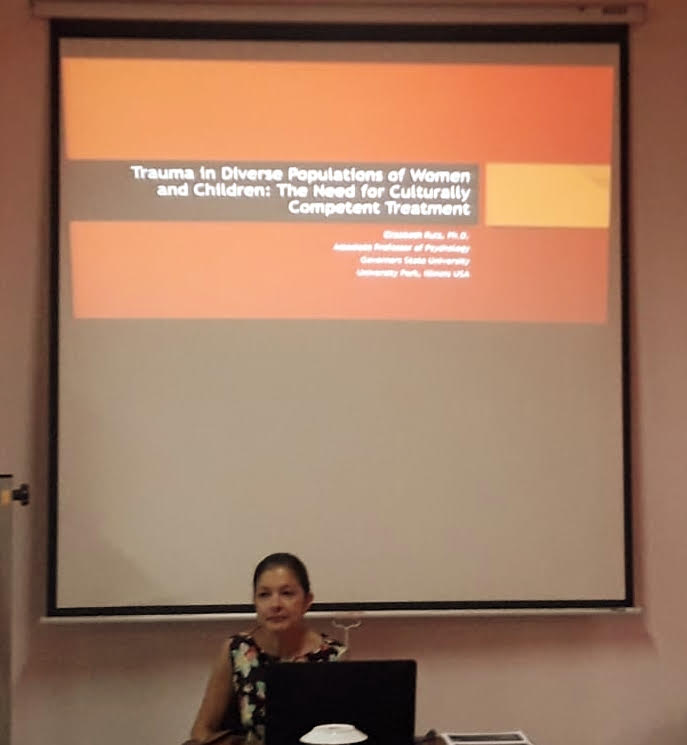 """Seminar on """"Trauma in Diverse Populations of Women and Children: The Need for Culturally Competent Treatment"""" – 18th May"""