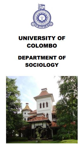 Master of Arts in Sociology 2018/2020 & Masters in Sociology 2018/2019