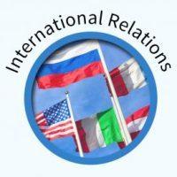 Certificate Course in International Relations – October- 2018 Intake