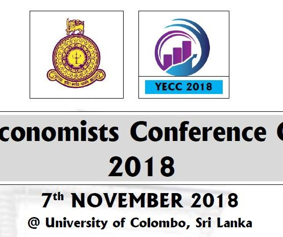 Young Economists Conference Colombo 2018 – 7th Nov.