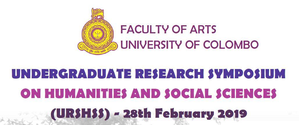 Undergraduate Research Symposium 2019 – 28th Feb.