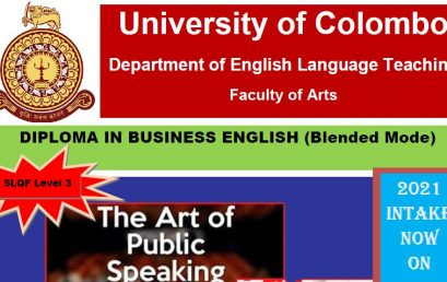 Diploma in Business English (Blended Mode) – 2021 intake