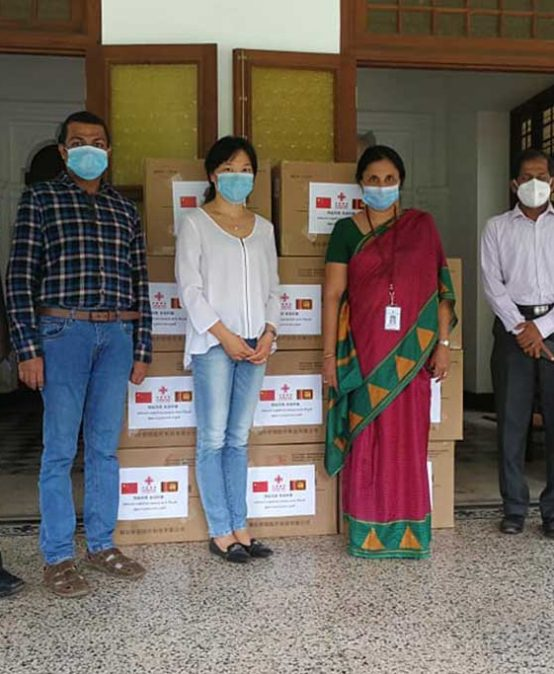Chinese Embassy in Sri Lanka donates 11000 medical masks – 27th May