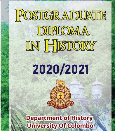 Postgraduate Diploma in History 2020 / 2021