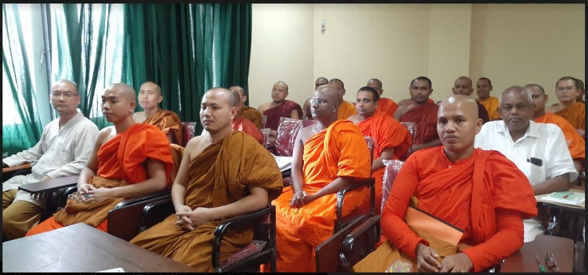 Inauguration of MA in Buddhist Studies Program – 28th Aug.