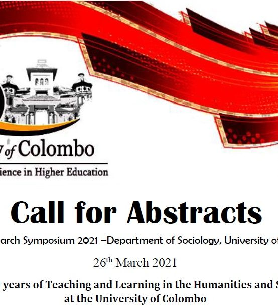 Call for Abstracts : Annual Research Symposium 2021 – Social Sciences and Humanities in the Digital Age and in Pandemic Times