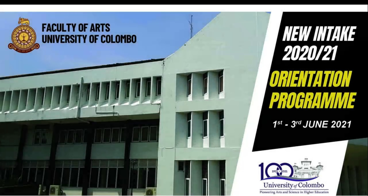 Orientation Programme for New Intake – (2020/2021)