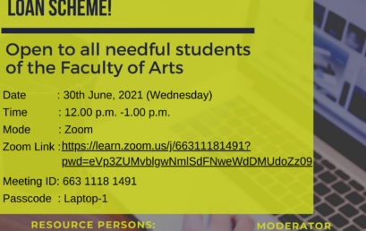 Awareness session on University Students' Computer Loan Scheme – 30th June