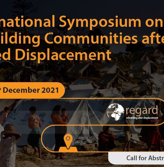International Symposium on Rebuilding Communities after Forced Displacement : 13th – 14th Dec.